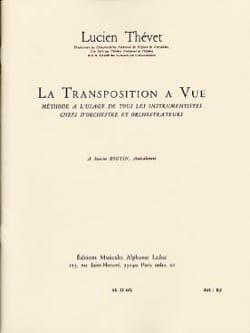 La Transposition à vue Lucien THÉVET Livre laflutedepan
