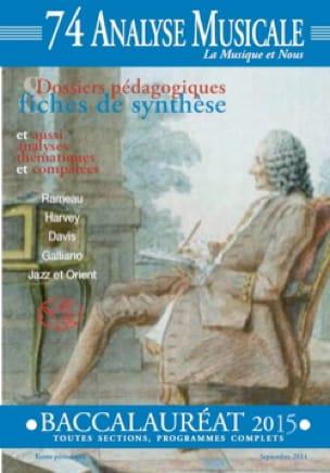 Analyse Musicale n° 74 - BAC 2015 - Revue - Livre - laflutedepan.com