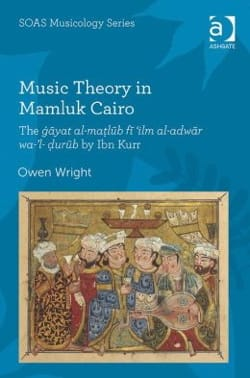 Music Theory in Mamluk Cairo Owen WRIGHT Livre Les Pays - laflutedepan