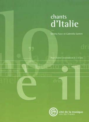 Chants d'Italie : pour chanter ensemble de 8 à 14 ans laflutedepan