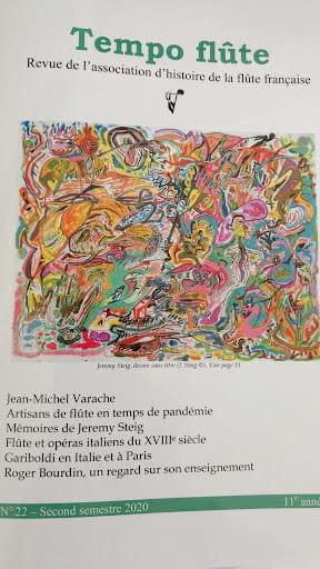 Tempo Flûte n°22 (Second semestre 2020) - Revue - laflutedepan.com