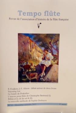 Tempo Flûte n°12 (Deuxième semestre 2015) - Revue - laflutedepan.com