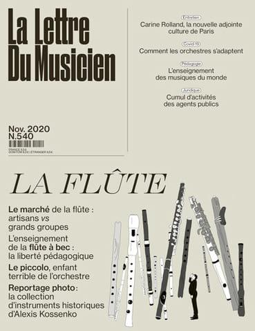 La Lettre du Musicien n°540 (novembre 2020) : La Flûte - laflutedepan.com