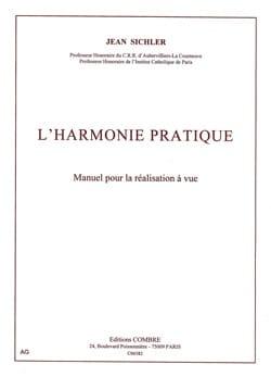 L'Harmonie pratique Jean SICHLER Livre Harmonie - laflutedepan