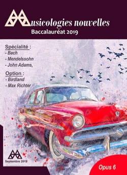 Musicologies Nouvelles - Baccalauréat 2019 Revue Livre laflutedepan
