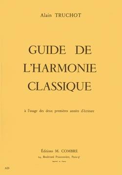 Guide de l'harmonie classique Alain TRUCHOT Livre laflutedepan