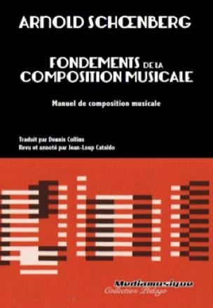 Fondements de la composition musicale - SCHOENBERG - laflutedepan.com