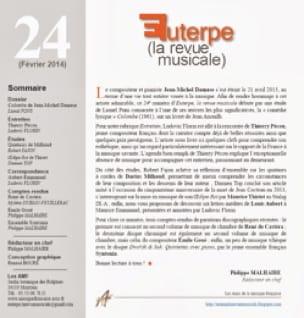 Euterpe, la revue musicale - n° 24 - Revue - Livre - laflutedepan.com