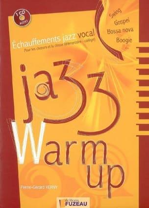 Jazz warm up : échauffements jazz vocal pour les choeurs et la classe laflutedepan
