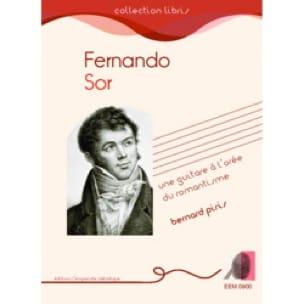 Fernando Sor - Bernard PIRIS - Livre - laflutedepan.com