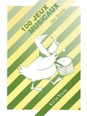 Ger STORMS - 100 jeux musicaux - Livre - di-arezzo.fr