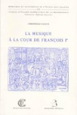La musique à la cour de François Ier Christelle CAZAUX laflutedepan