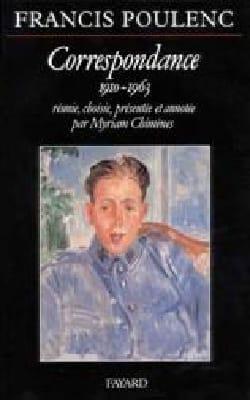 Correspondance 1910-1963 POULENC Livre Les Hommes - laflutedepan