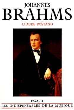 Johannes Brahms Claude ROSTAND Livre Les Hommes - laflutedepan