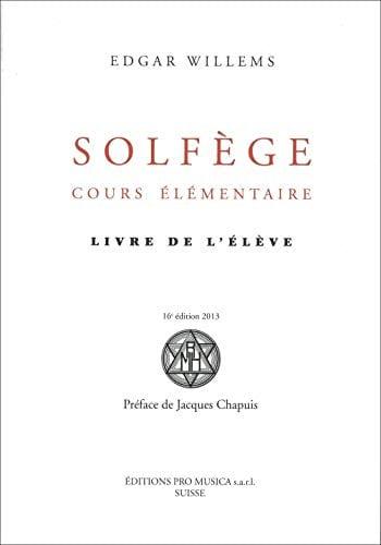 Solfège, cours élémentaire : Livre de l'élève - laflutedepan.com