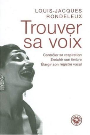 Trouver sa voix - RONDELEUX Louis-Jacques - Livre - laflutedepan.com