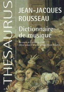 Dictionnaire de musique : fac-similé de l'édition de 1768 laflutedepan