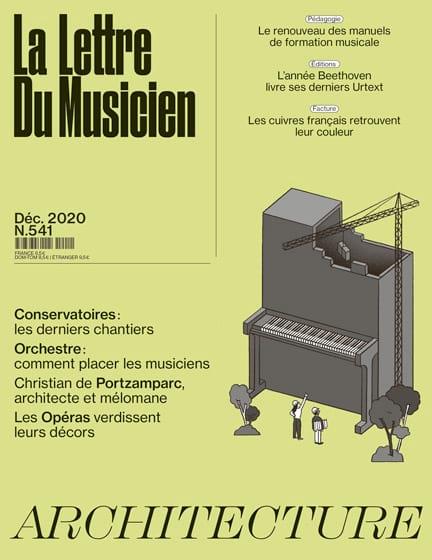 La lettre du musicien, n° 541 - Décembre 2020 - laflutedepan.com