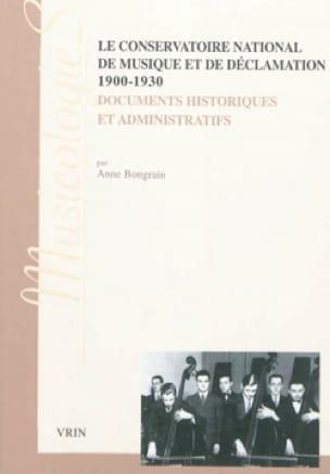 Le Conservatoire National de Musique et de Déclamation, 1900-1930 - laflutedepan.com