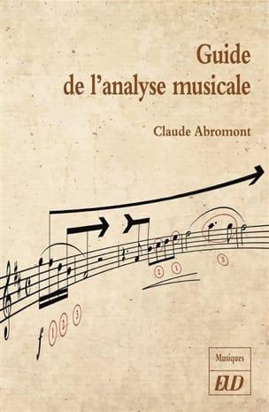 Claude ABROMONT - Guía de análisis musical. - Livre - di-arezzo.es