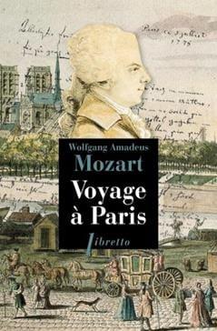 Voyage à Paris MOZART Livre Les Hommes - laflutedepan