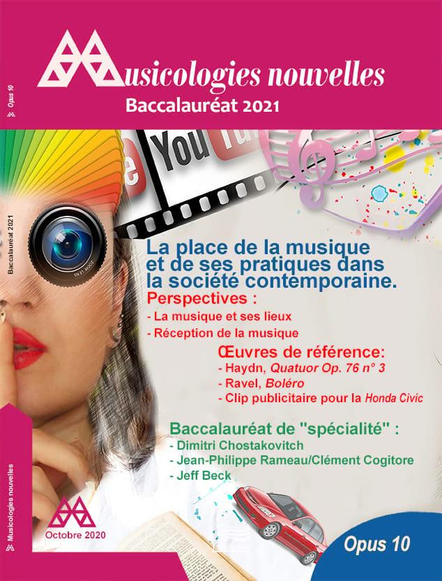 Musicologies Nouvelles - Baccalauréat 2021 - Revue - laflutedepan.com