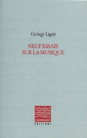 Neuf essais sur la musique LIGETI Livre Les Hommes - laflutedepan