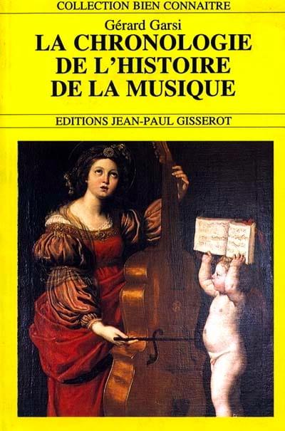 La chronologie de l'histoire de la musique - laflutedepan.com