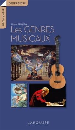 Les genres musicaux Gérard DENIZEAU Livre laflutedepan