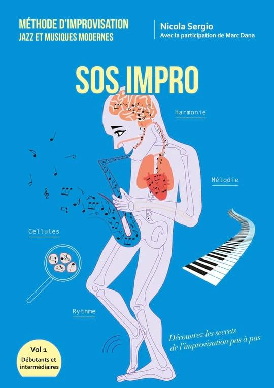 SOS Impro - SERGIO Nicola / DANA Marc - Livre - laflutedepan.com