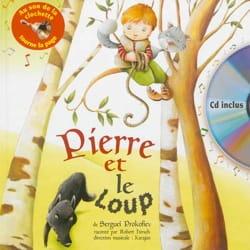 Pierre et le loup PROKOFIEV Livre Contes musicaux - laflutedepan