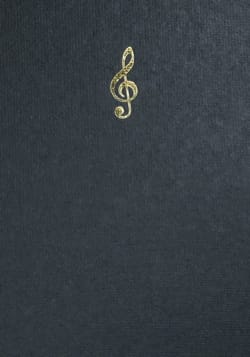 Carnet A6 noir - Empreinte - Carnet de notes - laflutedepan.com