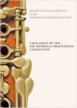 Catalogue of the Sir Nicholas Shackleton Collection laflutedepan