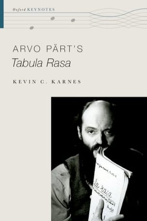 Arvo Pärt's Tabula Rasa - KARNES Kevin C. - Livre - laflutedepan.com