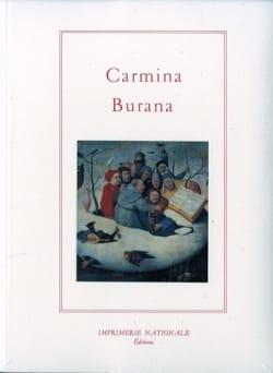 Carmina Burana - Livre - Les Epoques - laflutedepan.com