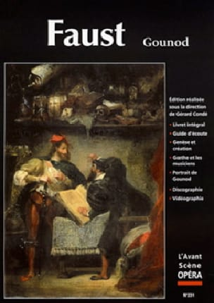 Avant-scène opéra (L'), n° 231 : Faust - GOUNOD - laflutedepan.com