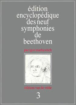 Symphonie n°3 BEETHOVEN Ludwig van / MARKEVITCH Livre laflutedepan