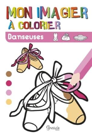 Mon imagier à colorier : danseuses - Collectif - laflutedepan.com