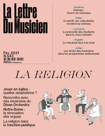 La Lettre du Musicien n°543 (février 2021) : La religion - laflutedepan.com