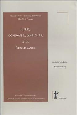 Lire, composer, analyser à la Renaissance laflutedepan