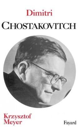 Dimitri Chostakovitch Krzysztof MEYER Livre Les Hommes - laflutedepan