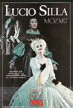 Avant-scène opéra (L'), n° 139 : Lucio Silla MOZART Livre laflutedepan