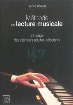 Méthode de lecture musicale à l'usage des pianistes adultes débutants laflutedepan