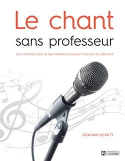 Le chant sans professeur Graham HEWITT Livre laflutedepan