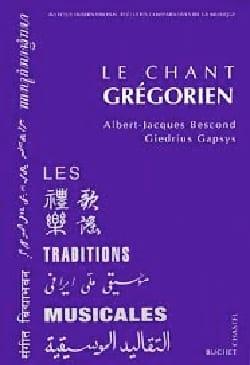 Le chant grégorien BESCOND Albert-Jacques Livre laflutedepan