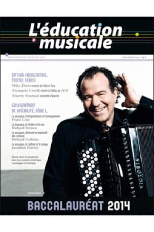 L'éducation musicale : Baccalauréat 2014 - Revue - laflutedepan.com