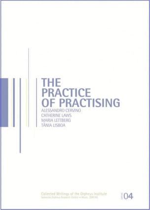 The practice of practising - COLLECTIF - Livre - laflutedepan.com