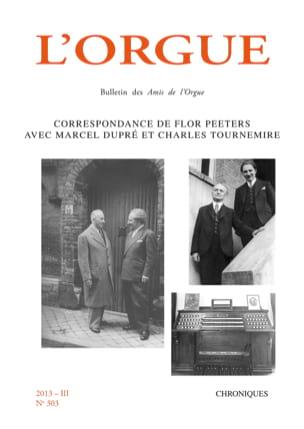 L'Orgue, n° 303 (2013/III) Revue Livre Revues - laflutedepan