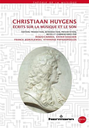Écrits sur la musique et le son Christiaan HUYGENS Livre laflutedepan