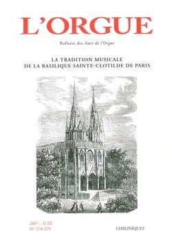 L'Orgue, n° 278-279 (2007/II-III) Revue Livre Revues - laflutedepan